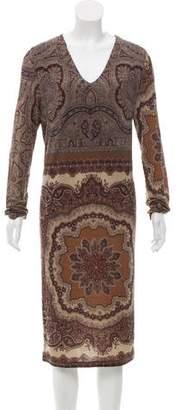 Etro Wool Paisley Dress