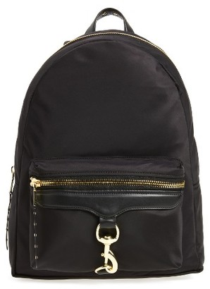 Rebecca Minkoff Always On Mab Backpack - Black $195 thestylecure.com