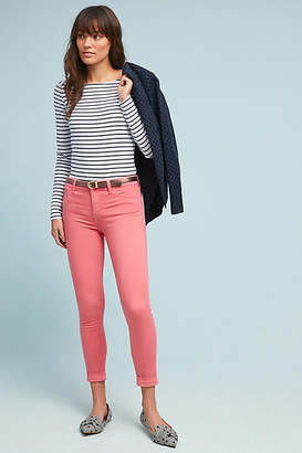 J Brand Anja Mid-Rise Cropped Skinny Jeans