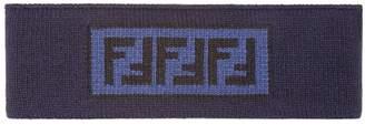 Fendi FF intarsia motif headband