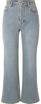 Acne Studios Taguhy Den Mid-rise Bootcut Jeans - Mid denim
