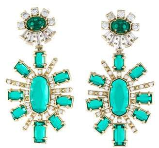 Kendra Scott Crystal Glenda Drop Earrings