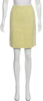 Chanel Wool Tweed Skirt