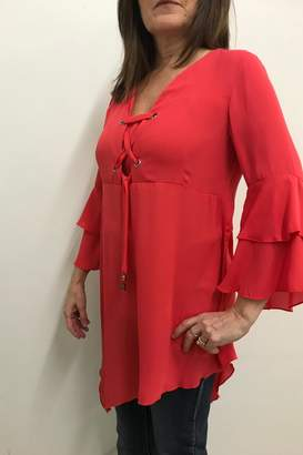 Michael Tyler Collections Bell Sleeve Tunic