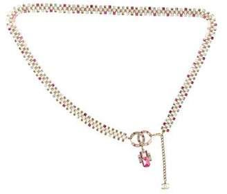 Chanel Embellished Chain Belt