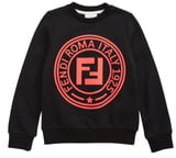 fa603199 Fendi Black Girls' Sweatshirts - ShopStyle