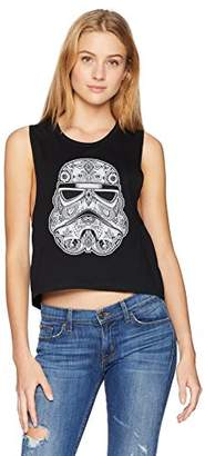 Star Wars Junior's Women's Fashion Muscle Tees