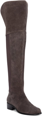 Charles by Charles David Giza Over-The-Knee Stretch Boots Women's Shoes $199 thestylecure.com
