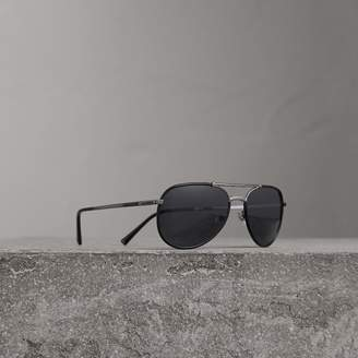Burberry Folding Pilot Sunglasses