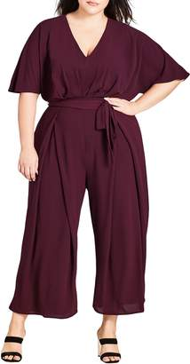City Chic Love Child Jumpsuit