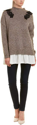 Willow & Clay Marble Applique Sweater