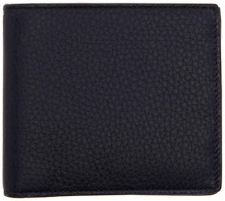 Smythson Navy 6CC Burlington Bifold Wallet