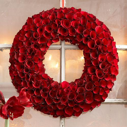 Rose Wood Wreath, 24