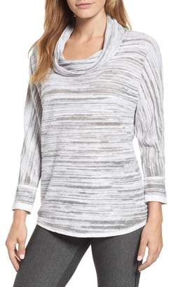 Nic+Zoe Breeze Cowl Neck Sweater