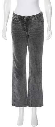 Chloé Straight-Leg Mid-Rise Jeans