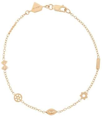 Alison Lou 14kt yellow gold mini Pasta by the Yard bracelet