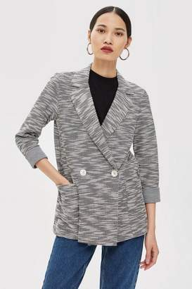 Topshop Jersey Boucle Jacket