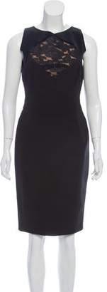 Elie Saab Sleeveless Knee-Length Dress