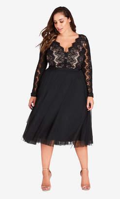City Chic Rare Beauty Dress