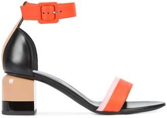 Pierre Hardy block heel sandals