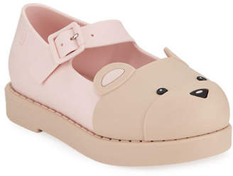 Mini Melissa Maggie Bear Mary Jane Flats, Toddler