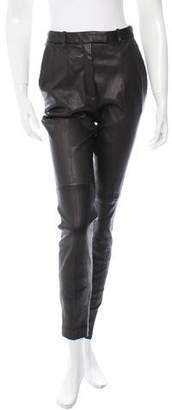 Barbara Bui High-Rise Leather Pants w/ Tags
