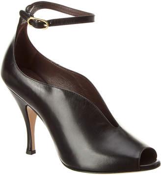 Bruno Magli Cali Leather Heeled Sandal