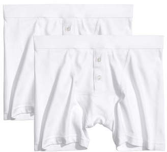 H&M 2-pack Boxer Shorts - White