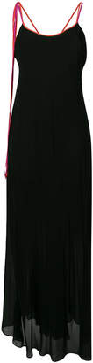 Pinko crisscross back dress