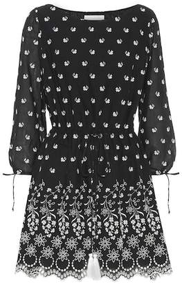 Athena Procopiou Moonbeams embroidered cotton dress