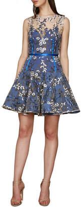 DAY Birger et Mikkelsen Poppy Cobalt Mini Dress