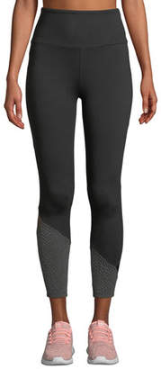 Lanston Gibson High-Rise Ankle Block Leggings