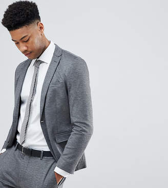 Selected Skinny Fit Jersey Suit Jacket