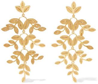 Mallarino Gabriella Gold Vermeil Earrings - one size