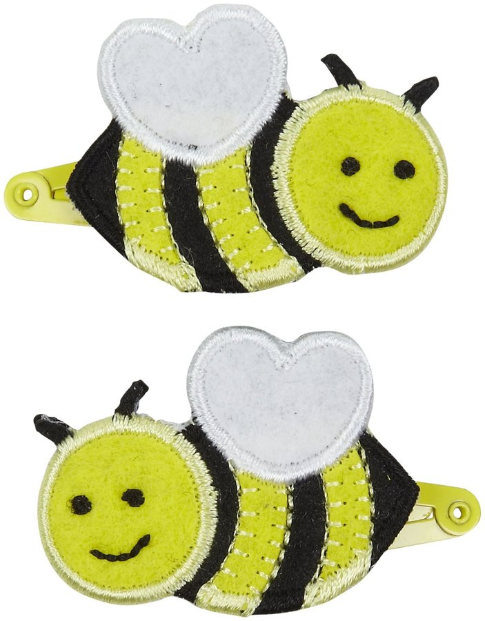 Bumble Bee Lily & Momo Hair Clip