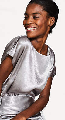 Esprit Blouses woven short sleeve