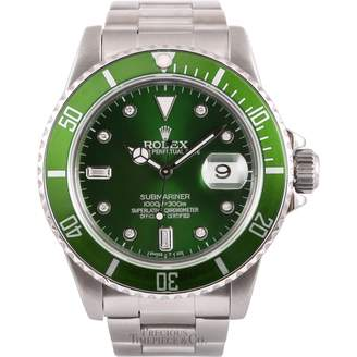 Rolex Vintage Submariner Green Steel Watches