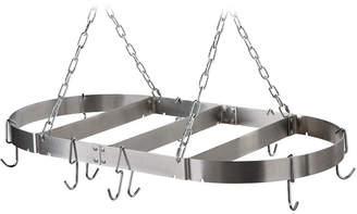 Calphalon 36 Stainless Steel Oval Pot Rack