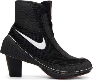 Comme des Garcons Black Nike Edition Heeled Boxing Boots