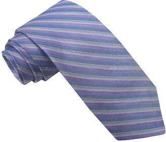STAFFORD Stafford Linen Look Stripe Tie