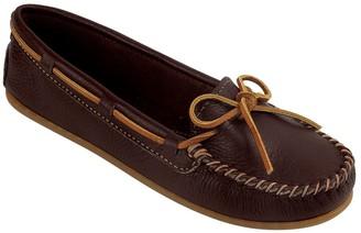 Minnetonka Leather Boat Moccasins