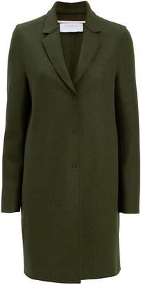 Harris Wharf London Olive Cocoon Coat
