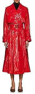 VIVETTA Women's Nerly Vinyl Trench Coat - Red
