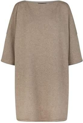 eskandar Contrast Trim Sweater