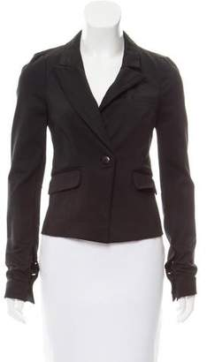 Elizabeth and James Tailored Button Front Blazer