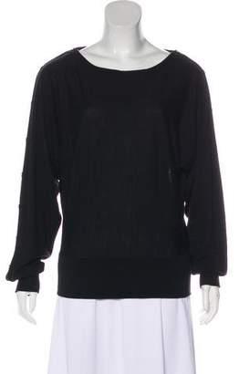 Michael Kors Wool Logo-Embellished Sweater
