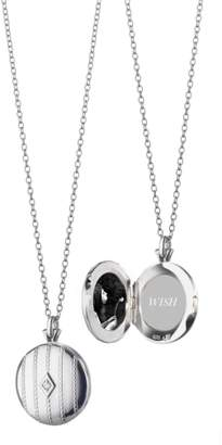 Monica Rich Kosann Center Diamond Locket Necklace