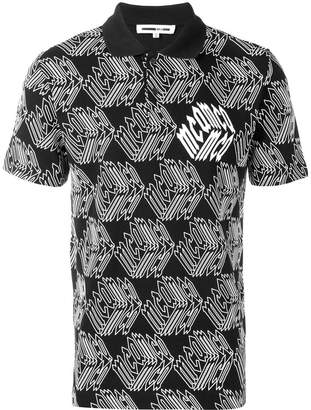 McQ printed polo shirt