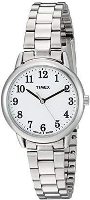 Timex Women's TW2R23700 Easy Reader Stainless Steel Bracelet Watch
