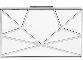 Andrea Mirrored Box Clutch $245 thestylecure.com